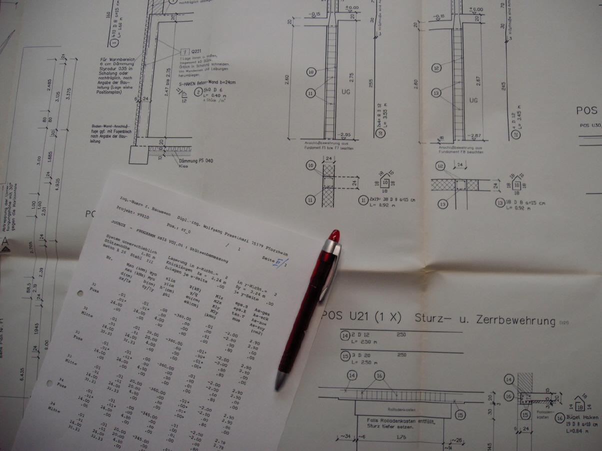 statische berechnungen und konstruktionsplanung. Black Bedroom Furniture Sets. Home Design Ideas